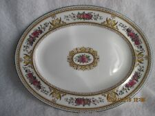 "Pottery & China Wedgwood Bone China Columbia W595 14"" Platter Made inEngland New"