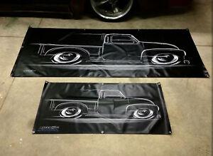 BIG BANNER 47-54 Truck Chevy GMC Chevrolet 1947 1948 1949 1950 1951 1952 1953