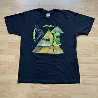 Vintage 1980's the Manhattan Transfer World Tour T Shirt Hanes Deadstock Sz XL