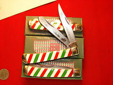 LOT OF 3 ROUGH RIDER   CHRISTMAS TRAPPER 6254 CANDY CANE PEARL limited 131414FPA