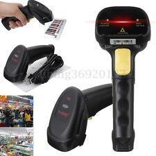 Code à Barre USB Handheld Laser Scanner Lecteur Scanneur Douchette Barcode POS