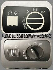 Interruptor Luces AUDI A3 8L,SEAT LEON MK1,S3 8L ,A2,A6 C, S6 C5,RS6 Pegatinas