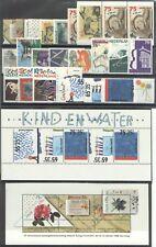 jaargang 1988 postfris (MNH) met blokjes