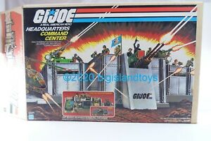 GI Joe 1983 Headquarters Command Center 100% Complete 100% Intact Excellent Box