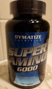 Dymatize Nutrition - SUPER AMINO 6000 - 180 Caplets - 60 Servings - Exp 6/2021