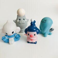 4 Psychic Pokemon Wobbuffet Meditite Spoink Nintendo Bandai Toy Figures Bundle b