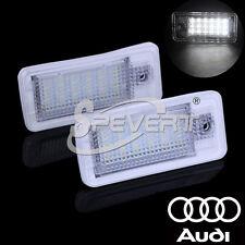 2X 18 LED Canbus Kennzeichenbeleuchtung Kennzeichen Leuchten Birnen SET für Audi