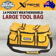 Kincrome 14 Pocket Weathershield Large Job Site Electricians Technician Tool Bag