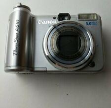 Canon PowerShot A610 5.0MP Digital Camera - Silver