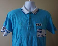 Vintage FILA 1991 US Open Umpire Tennis Polo Shirt Made in Italy Sz 42 = Medium