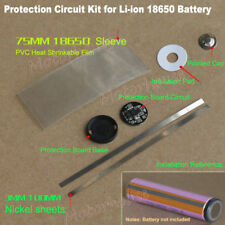 1S 5A 3.7V 18650 Li-ion Lithium Battery BMS Circuit Round Protection PCB Board