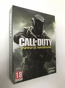 PS4 COD Game CALL OF DUTY INFINITE WARFARE Limited Edtn - Includes Badges - PAL