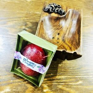 x2 Genuine Teak Wood Soap Dish Soap Holder Thai Handcraft (free soap) Fast Ship