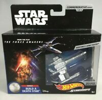 STAR WARS HOT WHEELS STARSHIPS RESISTANCE X-WING FIGHTER DIE-CAST #7 OF 9 NEW