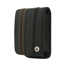 Crumpler Gofer Royale 40 Leather Compact Camera Case - Dull Black / Dark Grey