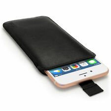 Fundas bolsillo color principal negro para teléfonos móviles y PDAs Apple