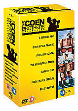 The Coen Brothers Collection (DVD, 2010, 7-Disc Set) New and Sealed