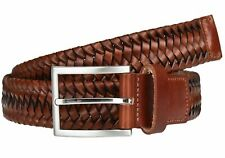 LLOYD Braided Men´s Belt W85 Gürtel Accessoire Cognac Braun