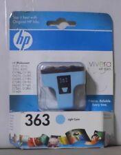 HP 363 light cyan C8774EE für  Photosmart 3110 3210 3310 8250 C5180 C6180 OVP
