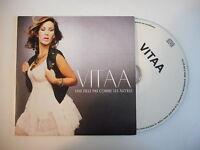 VITAA : UNE FILLE PAS COMME LES AUTRES [ CD SINGLE PORT GRATUIT ]
