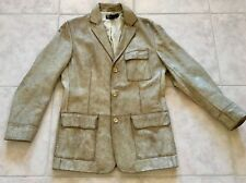 Polo Ralph Lauren Mens Distressed Leather Jacket