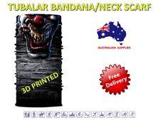 Seamless Face Mask Bandanna/Tube Scarf Microfiber QA3