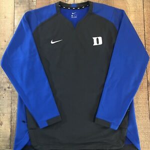 New Duke University Blue Devils Nike Therma-Fit Dri-Fit Sweatshirt Mens XL