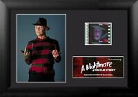 """A NIGHTMARE ON ELM STREET Freddy Krueger FILM CELL and MOVIE PHOTO 5"""" x 7"""" New"""