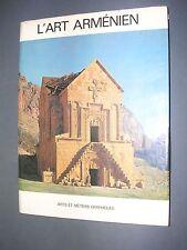 Arménie L'art arménien Sirarpie der Nersessian. 1977 grand album illustré