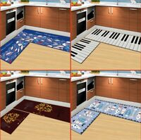 "Cartoon Carpet Machine Washable Non-Slip Mat,Kitchen Rug(15.7*23.6""+15.7*47.2"")"