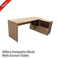 Computer Desk PC Laptop Study Table Corner Workstation Cabinet Home Office OD01