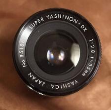 M42 Screw Mount Yashica Super Yashinon DX 35mm f2.8 WIDE Angle + case + caps