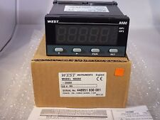 West 8080 1/8 DIN Temperature INDICATOR Alarm N8080 Colour Change Disp 110/240V
