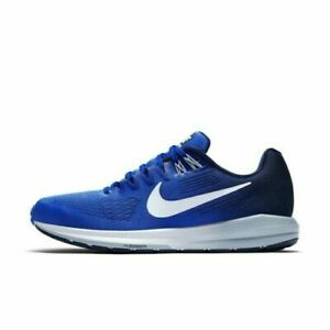 Nike AIR ZOOM STRUCTURE 21 Running Mega Blue Box Lid Missing 904695 402