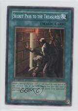 2004 Yu-Gi-Oh! Pharonic Guardian #PGD-037 Secret Pass to the Treasures Card 0c4