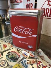 Drink Coca Cola Storage Tin German Made Licensed