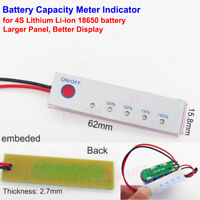 ABS LED Lithium Batteries Capacity Indicators BMS PCB Protection Board Voltmeter