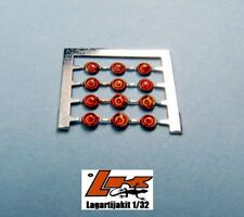 LIGHTS 1,5 mm PHOTO ETCH ORANGE 12 UNITS  FAROS RESIN KIT FARO NARANJA LIGHT