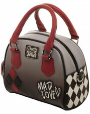 Licensed DC Comics Harley Quinn Mad Love Deluxe Mini Bowler Handbag Satchel New!
