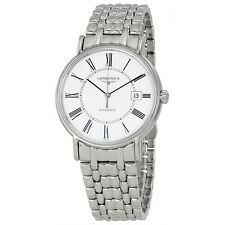 Longines Presence Automatic White Dial Mens Watch L49214116