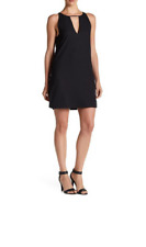 Parker Women's Riviera Side Lace up, keyhole, Dress, Black, Small   MSRP:$242.00