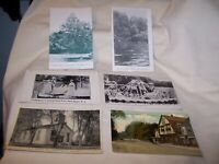 Set of 6 New Egypt NJ Postcards - Early & Middle 1900's