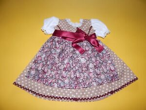 Baby Dirndl Kleid  Gr. 56