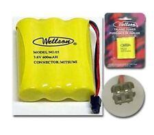 WELLSON 03 Tel 3/AA NiCd 3.6V 600mAh Black pin