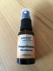 Propolisplus Propolis Mundspray 20 ml Flasche von Cum Natura