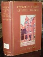 1910, First Edition, First Printing, TWENTY YEARS AT HULL-HOUSE, by JANE ADDAMS