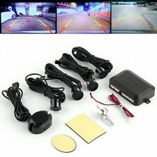 New 4 Parking Sensors Car Backup Reverse Radar Rearview Buzzer Sound Alarm