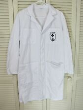Military Walter Reed Bethesda 6 Pocket Doctor Physician Lab Coat XS-3XL