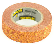 Scotch Expressions Decorative Glitter Tape Chooose Your Color by 3M 15mm x 5m