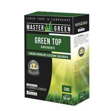Concime Granulare con Ferro per Tappeti Erbosi, Green Top Rinverdente - Blumen